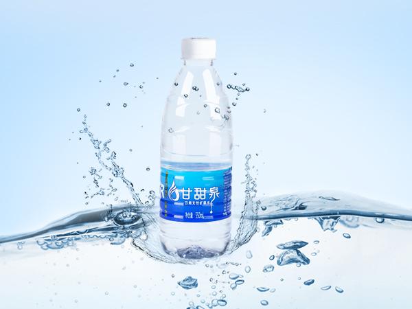 甘甜泉瓶装天然矿泉水550ml/瓶