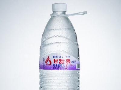 甘甜泉,创新推出1.25L母婴水,婴幼儿专用矿泉水